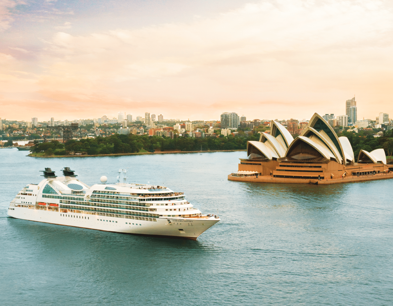 seabourn cruise- Odessy in Sydney